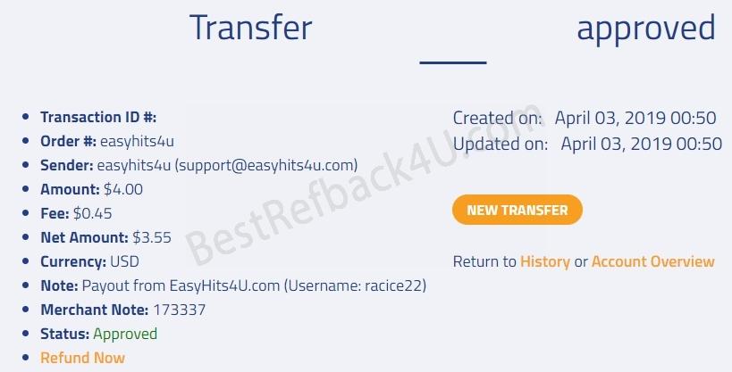 BestRefback4U - Earn Double From PTC Sites!